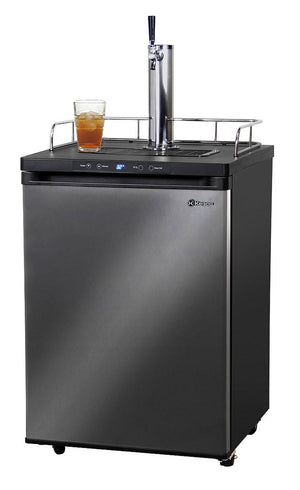 KEGCO DIGITAL KOMBUCHA KEG COOLER - BLACK CABINET WITH STAINLESS STEEL DOOR (KOM30X-1) - Bennet Hill