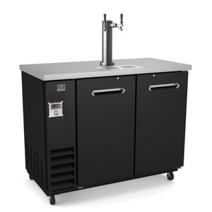 Kelvinator REFRIGERATION EQUIPMENT BEER DISPENSER WITH 2 DOOR AND 1 BEER COLUMN (R290) - Bennet Hill