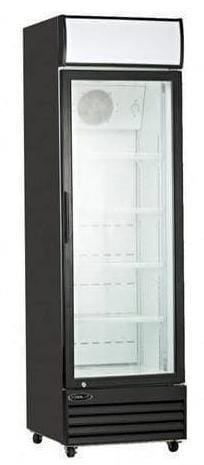 "Kool-It KGM-13 - 22"" Single Glass Door Display Cooler - 13 Cu. Ft - Bennet Hill"