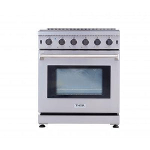 THOR 30 inch Professional Gas Range in Stainless Steel ( LRG3001U ) - Bennet Hill