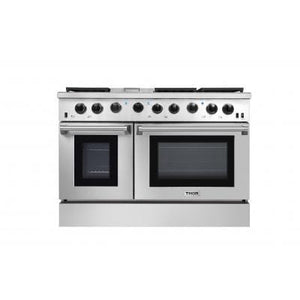 THOR 48 inch Professional Gas Range in Stainless Steel ( LRG4801U ) - Bennet Hill