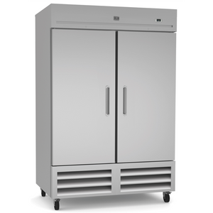 Kelvinator REFRIGERATION EQUIPMENT REACH-IN FREEZER, 2 DOORS, 49 CU.FT - STAINLESS STEEL (R290) - Bennet Hill