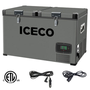 ICECO VL60 Portable Refrigerator Freezer Flexible Dual Zone design - Bennet Hill