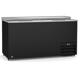 Kelvinator REFRIGERATION EQUIPMENT BOTTLE COOLER WITH SLIDE TOP, 19 CU.FT, 65'' (R600A) - Bennet Hill
