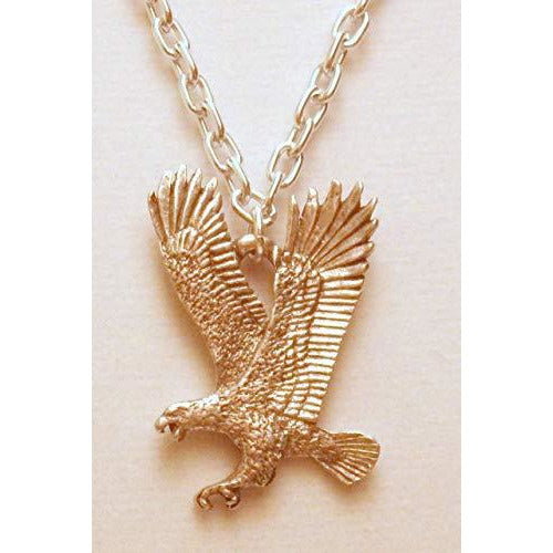 Flying Eagle Necklace 1353 - celtic-mink-jewelry