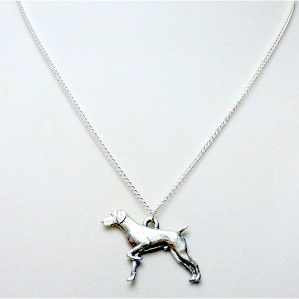 German Shorthair Pointer Dog Necklace 1509 - celtic-mink-jewelry