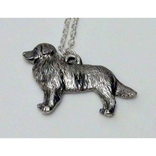 Australian Shepherd Dog Necklace 1524 - celtic-mink-jewelry