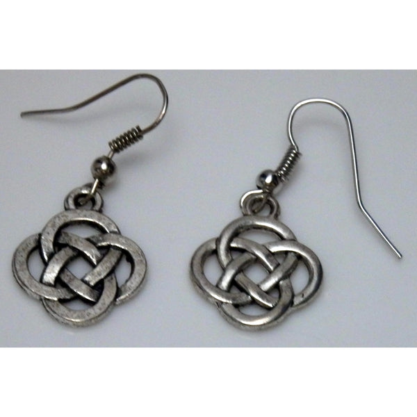 Open Round Celtic Knotwork Earrings 906 - celtic-mink-jewelry