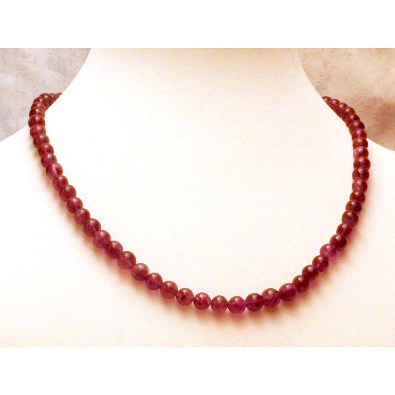 Amethyst necklace 1441