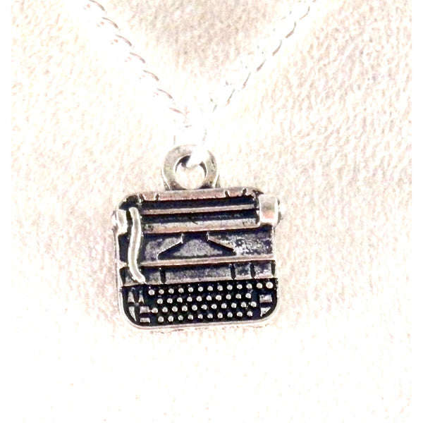Old Fashioned Typewriter Necklace 1648
