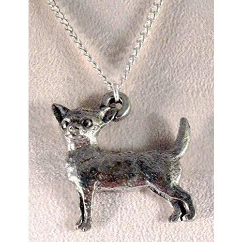 Chihuahua Dog Necklace 1538 - celtic-mink-jewelry