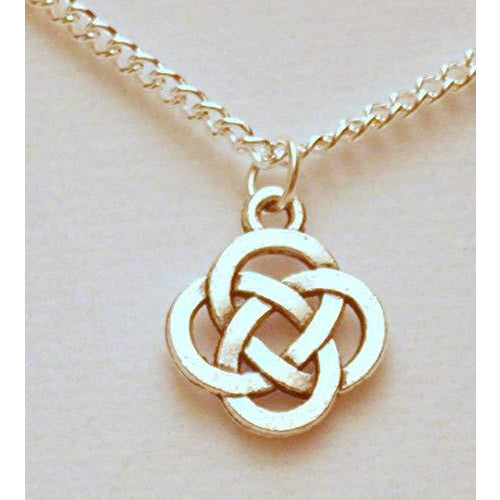 Open Round Celtic Knotwork Necklace 930 - celtic-mink-jewelry