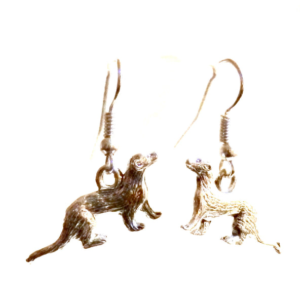ferret earrings 125