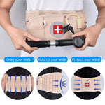 2-in-1 Lumbar Back Decompression Belt