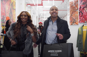 Cynthia Bailey Hosts Meet & Greet at Artistix's New Soho Pop-Up