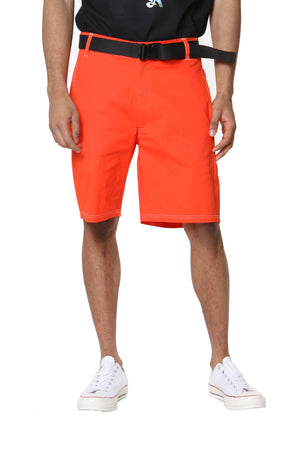 Belted Short - Orange