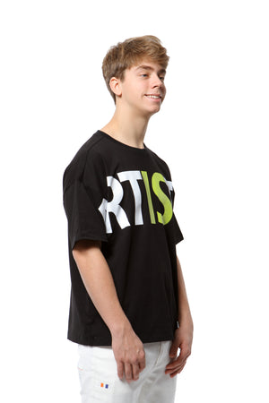 Relaxed Artistix Tee - Black