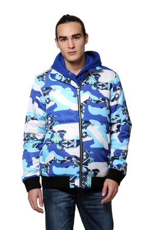 Adventure Camo Bomber Jacket