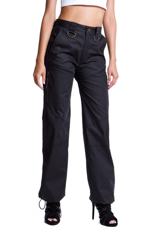Parachute Pants - Black
