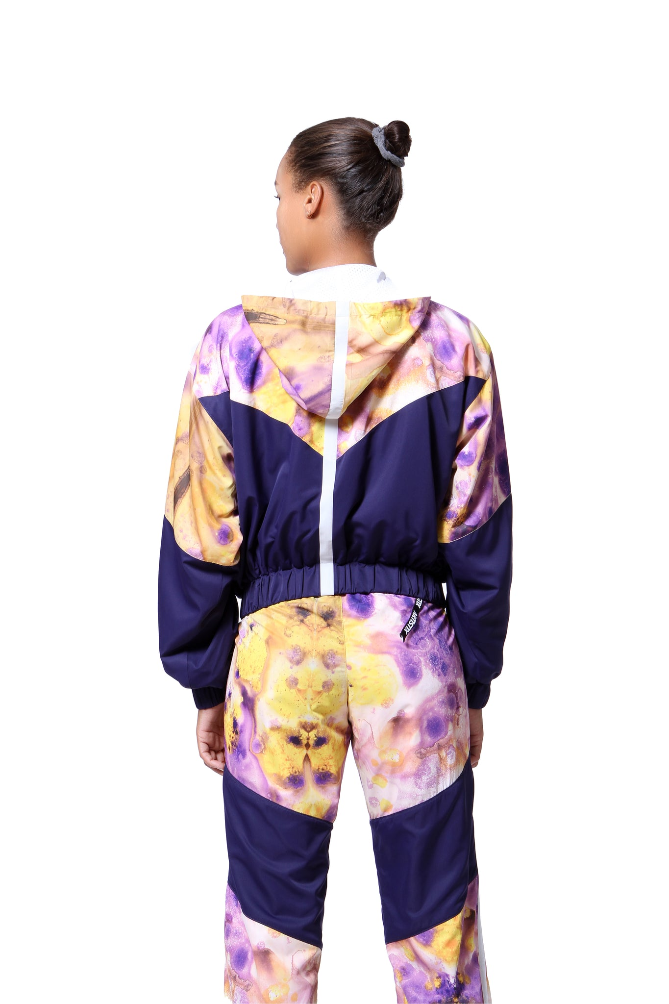 Cropped Windbreaker - Sierra Print