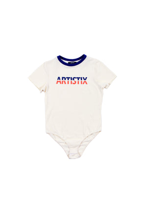 T-Shirt Bodysuit - White