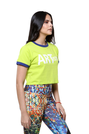 Cropped ART Tee