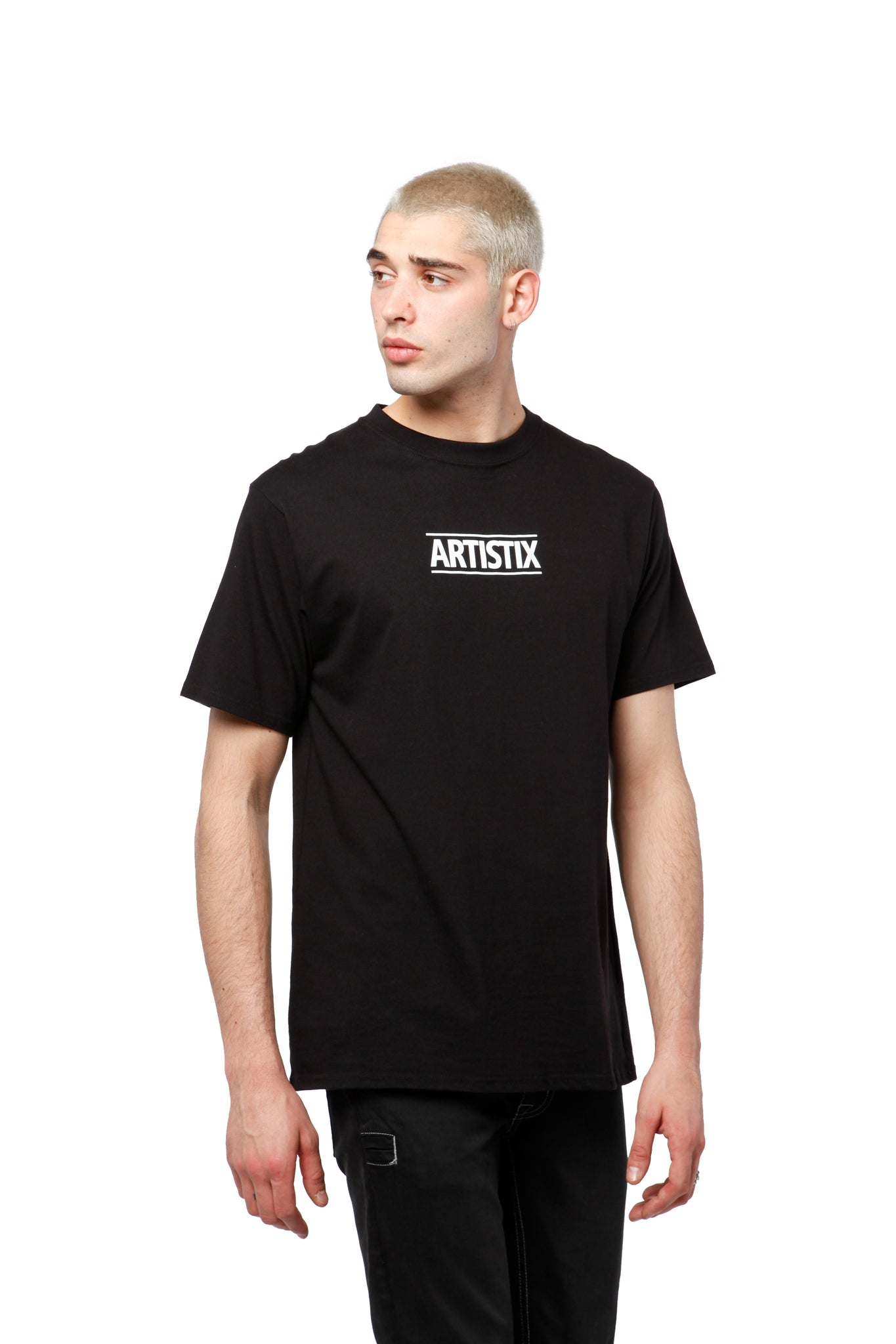 Block Logo Core Tee - Black
