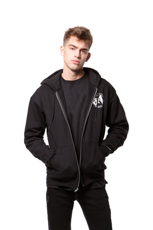 Dry Eco Zip-Up Hoodie - Black