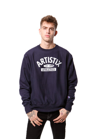 Artistix Athletics Dept. Pullover  - Navy