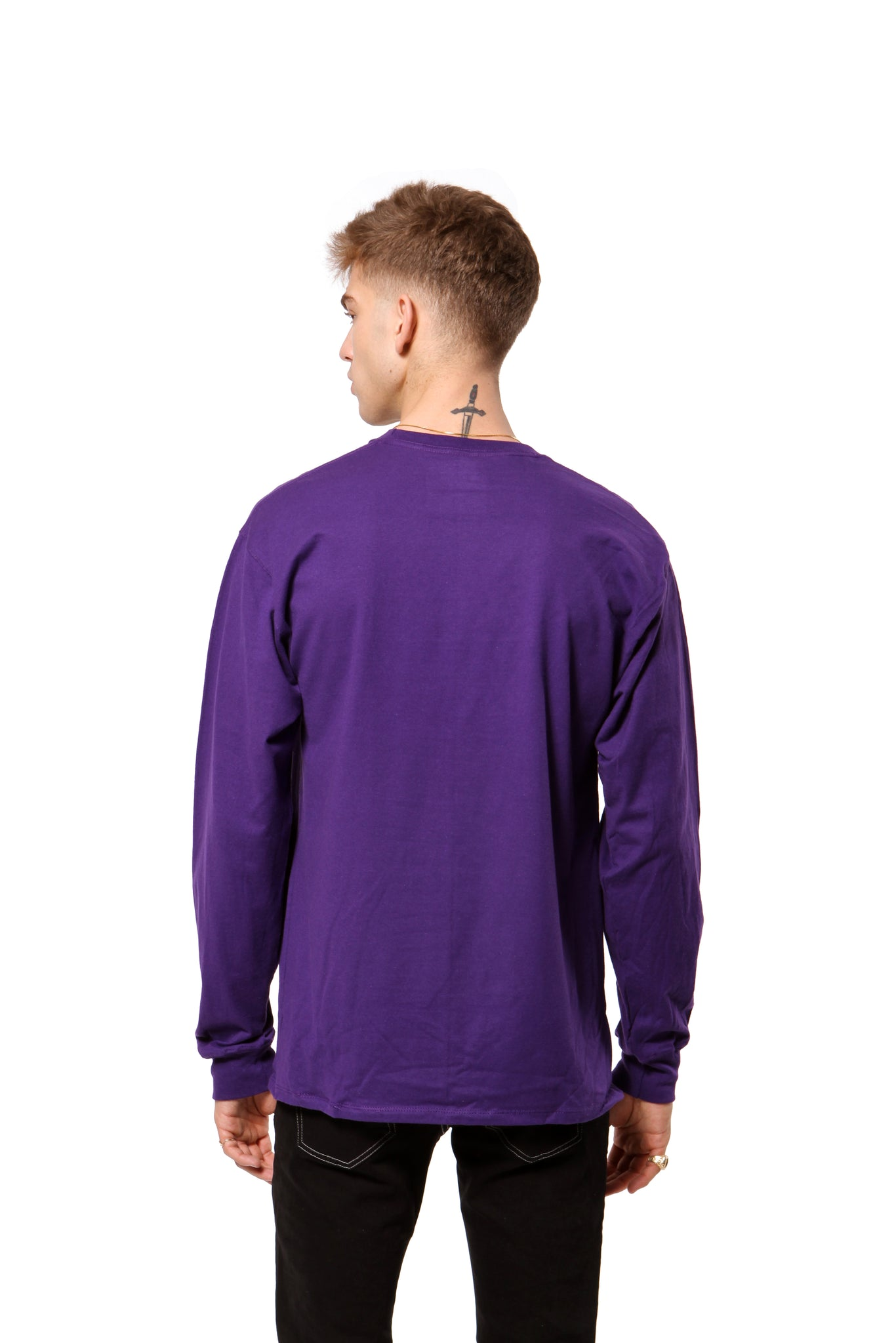 Greetings from New York L/S Tee - Purple
