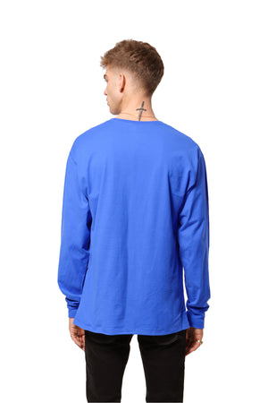 Harmony New York L/S Tee - Blue Bell