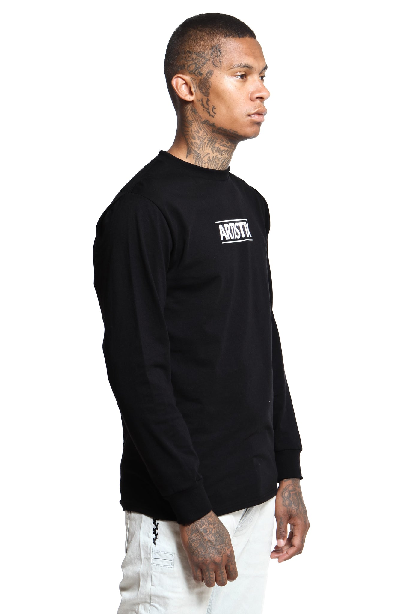 Block Logo Core L/S Tee - Black