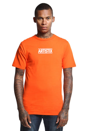 Block Logo Core Tee - Orange
