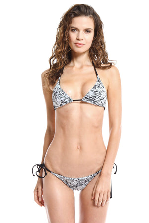 Equality Print Two-Piece Bikini