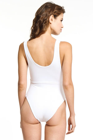 Pure White One-Piece