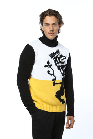 Crest Sweater - Yellow