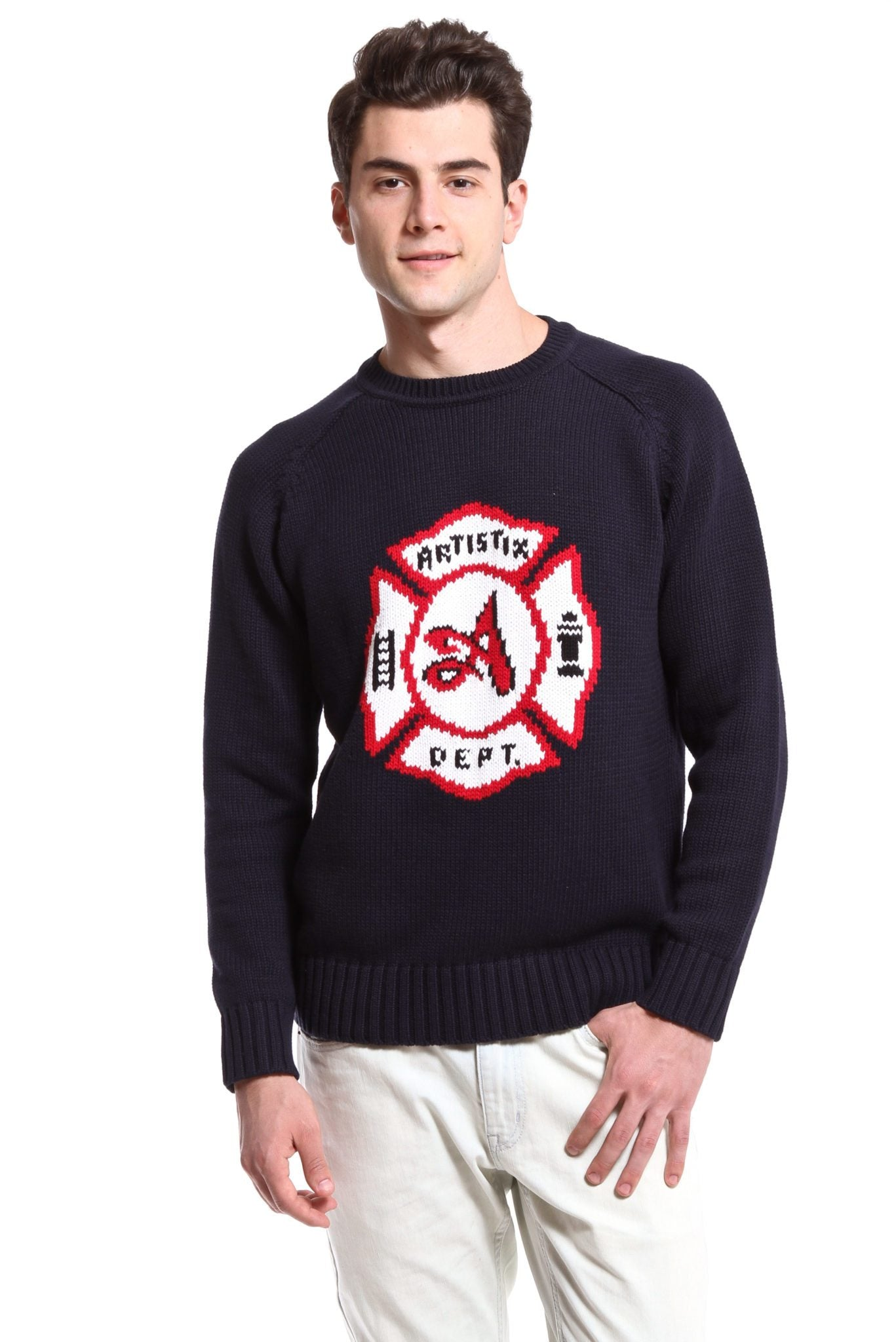 Fire Dept. Sweater