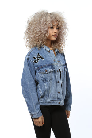 Logo Patch Denim Jacket