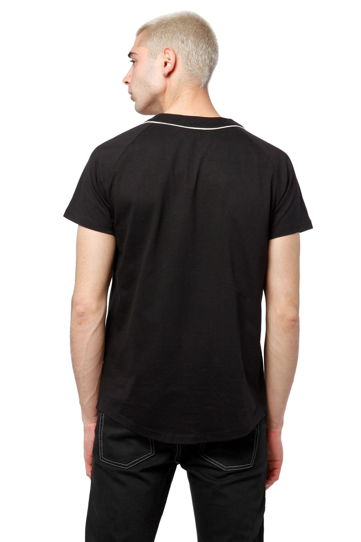 Baseball Shirt - Black