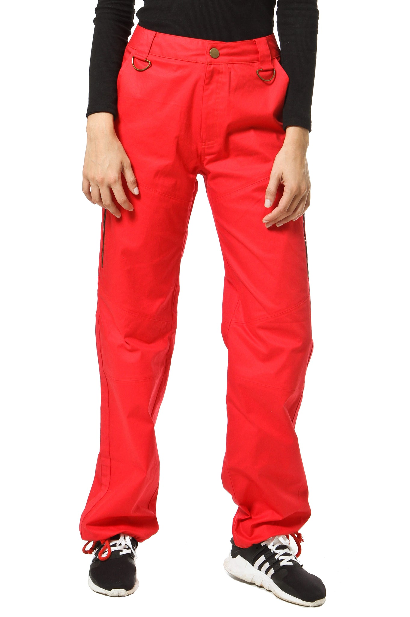 Parachute Pants - Red