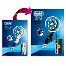 Load image into Gallery viewer, Oral-B Pro 2 2500 CrossAction Electric Toothbrush Black