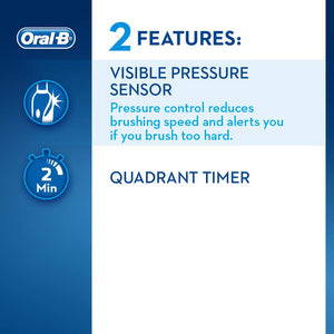 Oral-B Pro 2 2500 CrossAction Electric Toothbrush Black