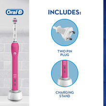 Load image into Gallery viewer, Oral-B Pro 2 2000 3D Electric Toothbrush Pink