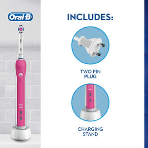 Oral-B Pro 2 2000 3D Electric Toothbrush Pink
