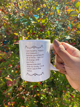 Load image into Gallery viewer, Health Affirmation White Mug