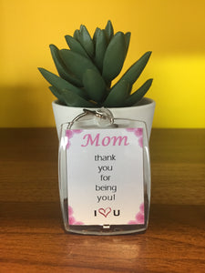 Mother's Keyring Keychain Mother's Day Gift