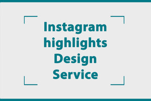Instagram highlights design service