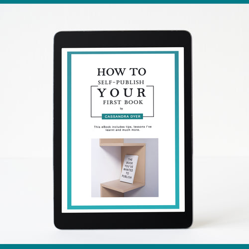 'How To Self-Publish Your First Book' eBook