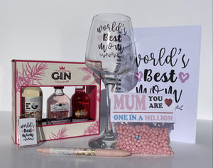 Mother's Day Gift Set Bundle Gin (FREE DELIVERY)