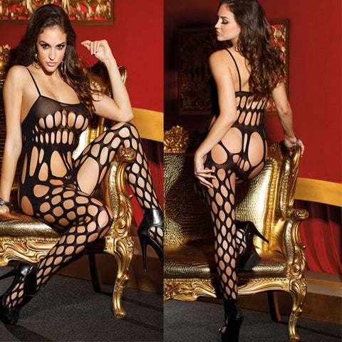 Sexy Fishnet Bodysuit - Fetish Shop USA